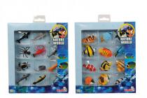 Set ryby a mořští živočichové, 2 druhy