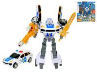 Auto / robot policajné 21 cm