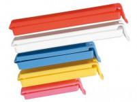 klip na sáčky plastový, sada 5díl. - mix farieb