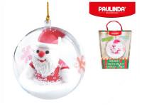 Paulinda Merry Christmas 2x14 g baňka s figurkou Santa Claus a doplňky