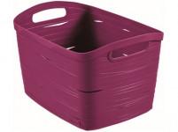 košík RIBBON 38,5x29x24cm (L) plastový, FI