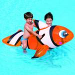 Ryba klaun nafukovacie 147x94 cm s úchytkami