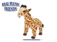 Žirafa plyš 34cm stojaci v sáčku 0m +