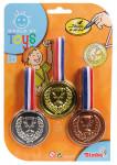 Tři medaile