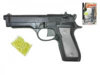 Pistole na kuličky plast 22cm s kuličkami