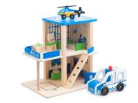 Drevená hračka POLICAJNÁ STANICA