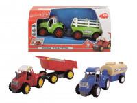 Traktor s přívěsem - mix variant či barev