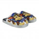 Pantofle - bačkůrky Tlapková Patrola modré