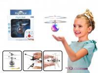 Vrtulníková koule s LED krystaly