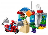 Lego Duplo 10876 Dobrodružstvo Spider-Mana a Hulka