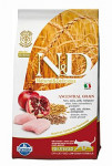 N & D Low Grain Cat Neutered Chicken & Pomegranate 1,5 kg