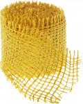 Jutová stuha 4 cm x 3 m - žltá