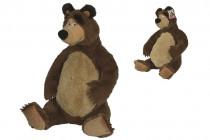 Máša a medvěd Plyšový medvěd 50 cm sedící
