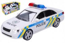 Auto polícia plast 24cm na batérie so zvukom so svetlom