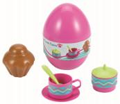 Vajíčko s jedálenským setom - mix variantov či farieb