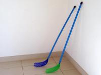 Floorball hokejka plast - mix farieb