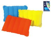 Vankúšik cestovná nafukovacie 38x24x9 cm - mix farieb
