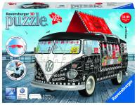 Ravensburger VW autobus motív 2; 3D, 162 dielikov