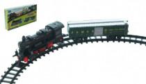 Vlak s kolejemi 14ks plast na baterie se zvukem se světlem