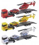 Teamsterz ťahač + helikoptéra + auto