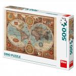 Mapa světa z R.1626 500D