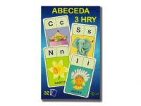 Abeceda / Hľadaj / Písmená 3 v1 7x10,5x1,5 cm 32 ks
