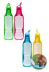 Miska / fľaša 2 v 1 na vodu pre psov 450ml