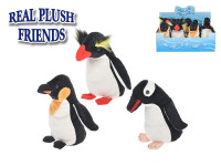Tučňák plyšový 17cm 0m+ - mix variant či barev