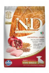 N & D LG DOG Puppy Mini Chicken & Pomegr 7kg