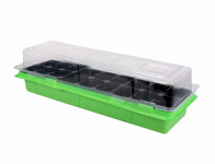 Minipařeniště MEDIUM 18 otvorov zelené 47x16x12cm