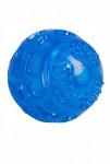 Hračka pes Lopta 7,5cm TPR guma svietiace