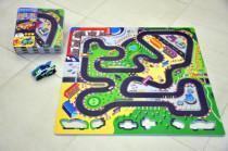 Pěnové puzzle Závodní dráha 32x32cm