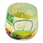 svíčka vonná sklo GREEN TEA 100g (hoří 20hod)