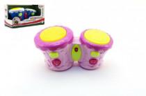 Bubínky plast 23cm na baterie se zvukem se světlem - mix barev - VÝPREDAJ