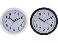 hodiny nástenné pr.22,6cm PH BI / ČER - mix variantov či farieb