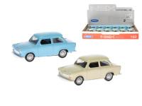 Auto Trabant 601 kov 7cm zpětný chod - mix barev