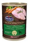 Butcher's Dog Monoprotein s krůtím a zelen. konz 390g