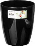 Elho obal Brussels Orchid High Diamond - metallic black 10,5 cm