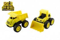 Auto stavebné plast 15cm voľný chod - mix variantov či farieb
