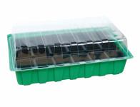 Minipařeniště MINI 18 otvorov zelené 36x22x12cm