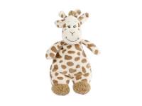 Žirafa plyšová 22 cm s hrkálkou