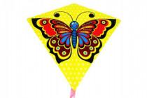 Drak lietajúci motýľ plast 68x73cm