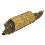 Hračka cat prírodná + plyš Myš v tuneli RW 1 ks