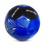 Spokey STENCIL Fotbalový míč vel. 5 modro-černý