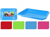 tácka 29x21x3,5cm PH (4ks) jednorazový - mix farieb