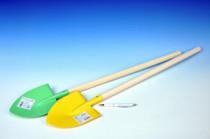 Rýľ s násadou špicatý kov / drevo 80cm náradie - mix variantov či farieb