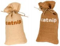 Hračka cat dôvo + jutový vrecúško s santa