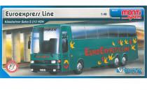 Stavebnica Monti 33 Euroexpress Line-Bus Setra 1:48