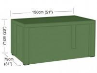 plachta krycia na obdĺžnikový 4-6místný stôl 130x79x71cm, PE 90g / m2