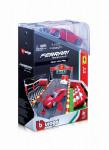 Bburago 1:43 Ferrari set box + 1 auto - mix variantov či farieb